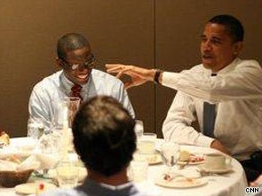 Kevin Lewis and Obama